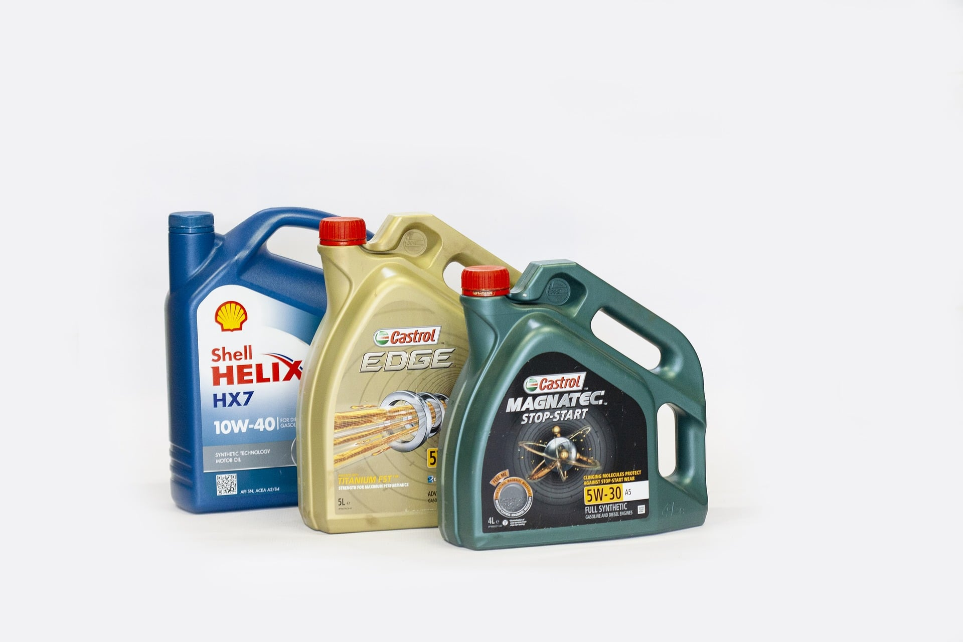 Engine Oil Bottles