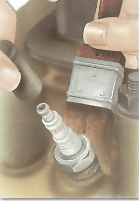 Cleaning the plug